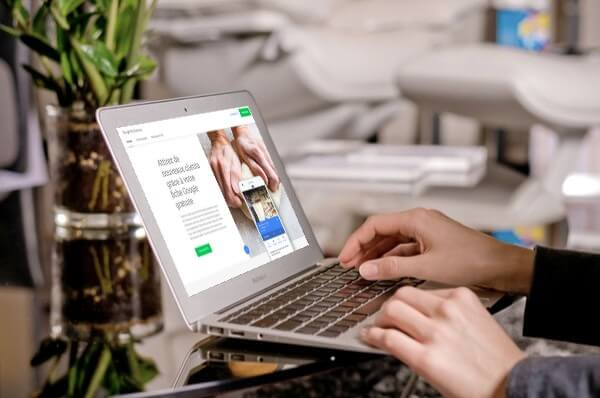 google My business - création d'un site internet